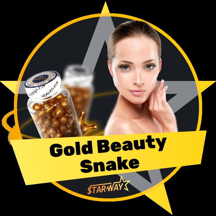 Gold Beauty Snake - 48 грн